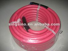 Red Rubber Gas Hose Pipe