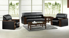 hot sales wooden executive sofa for living room/office