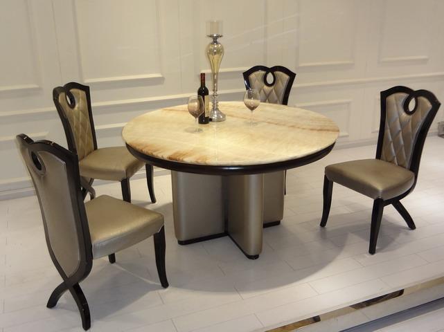 Elegante moderno juegos de comedor comedor muebles t2022 r   ...