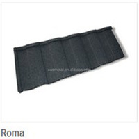 low pirce chinese 1350mm*450mm color stone coated metal roof tiles