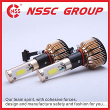 H7 H8 H9 2400LM L.E.D Headlighting For Commercial Vicheles front lamps