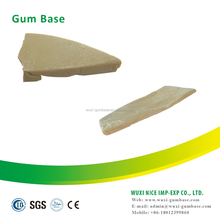 Natural organic arabic gum base