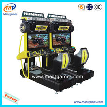 Manufacturer price 32 inch Hummer children hot sale play game car racing