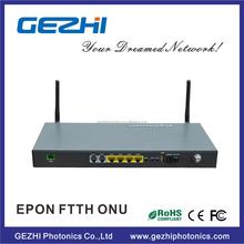 EPON 1GE+ 3FE +2POTS + WIFI +CATV ONU compatiable with BDCOM/ZTE/Huawei