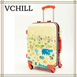 Cute Girls Hard Shell Animal Printed ABS Luggage