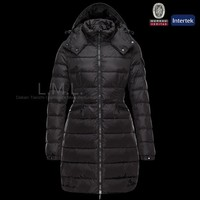 2015 HOT SALES women winter ultralight long style down jacket