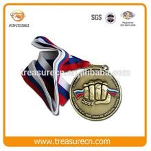 China Wholesale Low Price Iron Medal With Enamel Logo