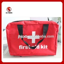 Multipupose first aid bag red cross emergency first aid kit