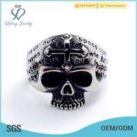 jewelry stainless steel ring,plastic skull ring,stainless steel ring blanks