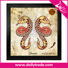 the zodiac canvas art prints paintings for bedroom
