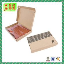 Corrugated paper mailing box for garment
