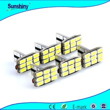 Wholesale 12v auto t10 194 w5w canbus 5630 smd 10 car accessory
