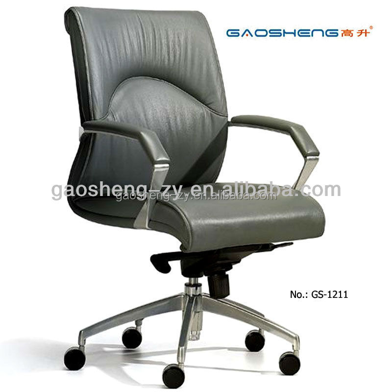 Luxury Pu Leather fice Chair gs 1211 Leather Chair Arm