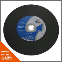 350x3.2x25.4 Abrasives Cutting disk for metal