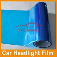 Asewrap Good Selling Car Headlight Film Blue Car Light Car Lamp Film for Decoration 0.3*10m