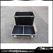 Hot Selling Flight Case for 2 x HK Audio Speakers with Caster Board