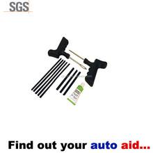 Heavy Duty Tubeless T-Handle Tire Plug Repair Kit 11 Pieces