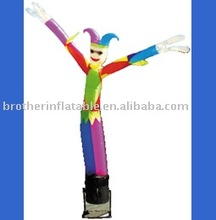 2012 most funny and colorful single leg air dancer