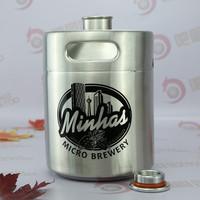 d keg coupler of 64oz Stainless steel growler small drinks fridge drink fresh growler