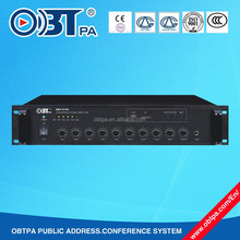 OBT-6150 Mixer Power Amplifier 150W 220V with USB and SD card slot for Buildings