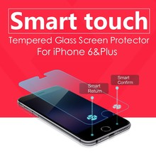 Brand LEDO High Quality !! 0.3mm 9H Anti Shock 2.5D Curved Edge Mobile Phone Smart Touch Tempered glass screen protector