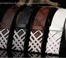 100% cowhide genuine leather belts for men,fancy vintage jeans cowboy China leather belt