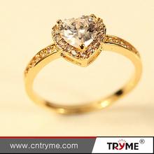 New Design gold rings design for women