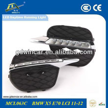 Best Selling Auto Parts Flexible Waterproof Car LED Daytime Running Lights For BMWw X5 E70 2009-2012