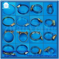 2015 hot selling vertical wall mount pipe clamps hose clamps