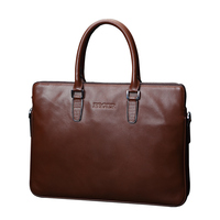 FEGER brand leather laptop briefcase best wholesale price