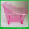 Export from qingdao Plastic mini bathtub for bathset packing