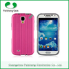 Hot Sale cell phone cases TPU+PC 2 in 1 dual layer case with stand function free sample phone case for Samsung Galaxy S4