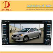 6.2 inch touch screen car dvd player for Toyota Hilux(2001-2010)