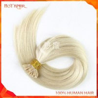 100 Keratin Tip Human Hair Extension 0.5g/0.7g/0.9g/1g Flat Tip Human Hair Weave