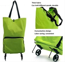 Alibaba vegetable shopping trolley bag, trolley shopping bag with chair