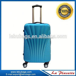 china supplier abs+pc luggage trolley bag / suitcase case / luggage hang tag