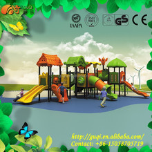 kidergarden equipment , plastic slide outdoor amusement park residential area game for kids playground adventure GQ-029-A