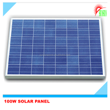 100W Poly solar panel made in Shenzhen