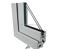 casement and sliding series window and door plastic upvc profile