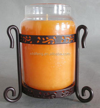 Clear Glass Candle Jar for candles christmas decoration