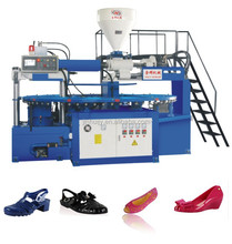 PVC plastic slipper injection molding machines