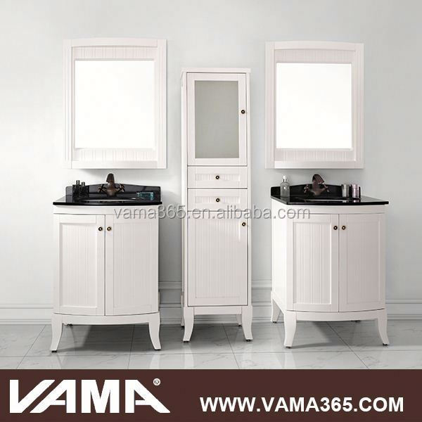 19717A mirrored modern bathroom vanity for sale