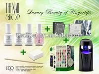 9W UV Lamp/UV Gel Starter Kit For Nail Art Decoration Set