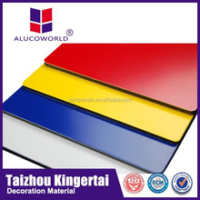 Alucoworld excellent snti-septic lightweight different thickness stone & marble aluminium building composite panel