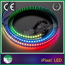 IPIXEL Digital pixel apa102 144LEDS rgb dream color led strip with connector