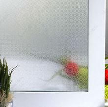 decorative non adhesive circle window film