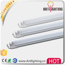 China factory 5000k 1.5m led tube 120cm t8 blue color 18w acrilic clear
