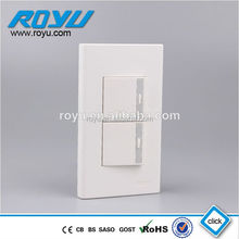 16A, 250V ABS material high copper 12 Year guarantee fast way type modular push button switch