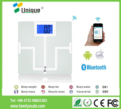 Health Measurement Dehydration Deal Directions Empty Stomach Electrical Current Bone Mass Digital Glass BMI Fat Analyser Scale