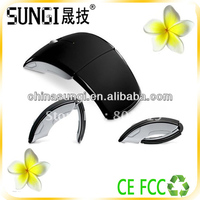 brand computer accessories folding optical wireless mouse